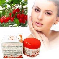 Wholesale HOT Hyaluronic Acid Goji Face Cream Chinese Wolfberry Medlar Multi effect Anti wrinkle Cream Inhibit Activity Of tyrosinase DHL free