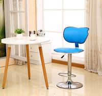 Wholesale Southeast Asia fashion bar chairs European style rotating coffee stool fashion cafe stool retail