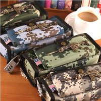 big cf - Cool Cross Fire CF Pencil Case Oxford Fabric Pencil Bag Pen Case Stationery School Office Supplies with Lock For Boys Big Small