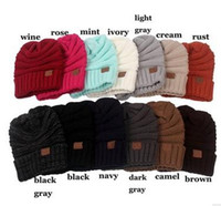 Wholesale HOT BEST SELLER outdoor warm hat cozy knitted hat with multi colored options Suitable for autumn and winter and male and female
