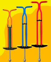 adult stilts - Rod doll jump stick spring child teenage adult outdoor fan toy double hand air jump pogo stick kg load Jumping Stilts