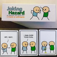 Wholesale Joking Hazard party game from the minds of Cyanide Happiness the hit webcomic funny and terrible comics about friendship violence sex