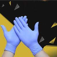 Wholesale 100PCS Disposable Latex Vinyl or Nitrile Gloves Powder Free Non Latex Vinyl Disposable Plastic PE Glove