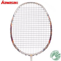 Graphite badminton racket tension - 2017 Genuine Kawasaki High Tension Badminton Racket The Highest Pounds Badminton Racquets With Free Gift