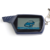 Wholesale Factory wholesales LCD remote for russian version Starlionr B6 two way car alarm sytem only LCD remote B6