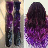 Wholesale Kanekalon Synthetic Jumbo Braiding Hair g inch Ombre two Tone Color Crochet Braids Twist synthetic Hair Extensions
