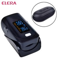 Wholesale Newest Digital Finger Pulse Oximeter WITH CASE Blood Oxygen a Finger SPO2 PR PI Oximetro de dedo Portable Oximeter Health Care