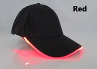 Wholesale Fashion led baseball caps event cap custom logo acceptable multiple led color available HFSC001