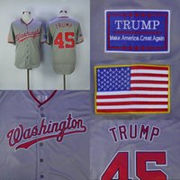 america logos - Donald Trump th President Make America Great Again Jersey Men s Stitched Embroidery Logos Baseball Jerseys