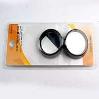 Wholesale Good quality inch small face round Black and silver same price small round mirror blind spot mirror grinding side mirror