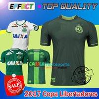 Tailandia Quality 2017 Chapecoense Inicio Copa Libertadores Camiseta de fútbol AAA + Maglia Trikot 2017 CAMISA MASCULINA 17/18 Camisetas de fútbol