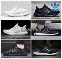 b core - Adidas Ultra Boost Triple Black White Primeknit Core Black Grey Men Women Running Shoes Classic Ultra Boosts ultraboost Casual Sneaker