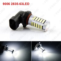 Wholesale 10pcs White Car Bulb SMD LED Fog Light Lamp With Lens HB4 Parking P22d V H321 Headlight