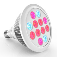 Wholesale Led Grow Lights E27 W W W LED Plant Growing Bulbs Led Grow Lamps For Flower Plant and Hydroponics System AC85 V