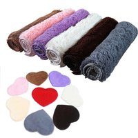 Wholesale X40CM Absorbent Memory Foam Bath Bathroom Floor Shower Heart Shape Door Mat Rug