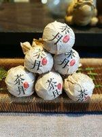 Wholesale Creative Tea Ball Pu Er Tea Unfermented Tea g honey sweet lose weight Chinese Gift Heath care Drop Shippiing