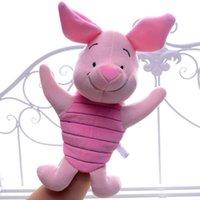 baby piglet - Lovely Pink Pig Piglet Hand Puppet Plush Cartoon Figure Kids Girls Baby Developmental Hand Puppet Brand New