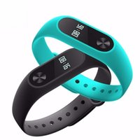 Wholesale Original M2S OLED display Heart Rate Monitor Smart band watch wristbands Health Fitness Tracker for Android iOS pk Mi Band S1