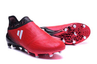 Wholesale New OriGInal Mens Football Boots X PureChaos FG AG Pure Chaos Control Soccer Shoes ACE PureControl Soccer Cleats MessI PureAgility