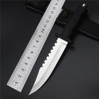 ancient knives - 2017 Top Fashion Quality Outdoor Hardness Saber Wild Fruit Self defense Tactical Combat Field Restoring Ancient Ways Straight Hunting Knife