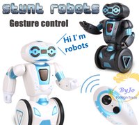 Wholesale Remote control intelligent robot balance wheel battle dance transport induction electric toy for children Balanced Induction Remote Control