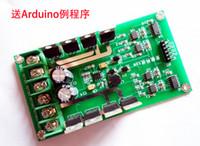 Wholesale Dual Motor Driver Module board H bridge DC MOSFET IRF3205 V A Peak A for robot smart car