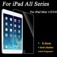 Wholesale New Premium Tempered Glass Screen Protector ipad front cover for Apple iPad Mini W0F50 SYSR