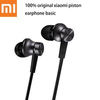 basic phone wiring - Original Xiaomi Piston Basic Edition Earphone With Microphone Ecouteur Headset For iPhone Samsung Mi Redmi Phone earphones