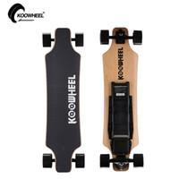 Wholesale KOOWHEEL Newest Electric Skateboard Two Wheel Drive Motor Skateboard Longboard Electric Motorized Skateboards With Remote Control