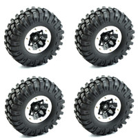 Wholesale 108mm RC Crawler Tires Tyre Wheels Rim For RC Car Rock Crawler