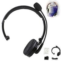 BH-M10B Alta calidad Venta al por mayor de precio de fábrica Multi-punto inalámbrico auricular Bluetooth auricular con micrófono para conductor de camión PS3 PC