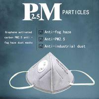 Wholesale Ruilite Graphene nano silver antibacterial anti haze masks breathable KN95 Anti fog haze Anti industrial dust Anti PM2