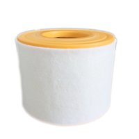 Yellow auto filter paper - Auto Accessories China instake fiber filter paper plastic OEM L4GD133843A Air Filter for Audi A6 L