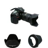 Wholesale Lens Hood D3200 D3100 D5200 D5300 Camera Lens Hood mm Bayonet Fits for nikon nikor AF S DX mm f G VR II Lens