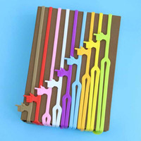 Wholesale 10pcs Hot Sale New Cute Silicone Finger Pointing Bookmark Colorful Book Mark Office Supply Funny Gift Cute Prize Gifts