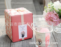 Wholesale Square vase sticker you thank sticker color stickers custom spot