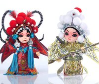 Wholesale Beijing yun to people Peking Opera folk arts and crafts gift package mail doll to go abroad to send foreigners characteristics