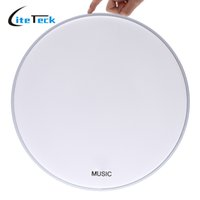 Wholesale Durable quot Diameter Coated Single ply PET Snare Drum Head Musical Instrument Parts and Accessories