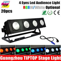 bar cup washer - TIPTOP COB LED BAR Eye Stage Led Audience Wall Washer Light x40W High Power IN1 Lamp Reflector Cup Multi Angle Adjustable