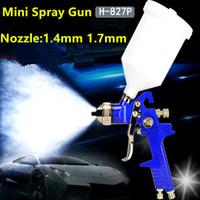 Wholesale High Quality cc mm Gravity Feed Pneumatic Spray Gun car spray guns for auto painting air hvlp spray paint gun