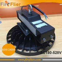 Wholesale 5pcs high voltage w ufo high bay w hall lighting w waterproof led lamp w w v v v workshop light lm w