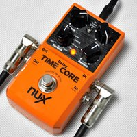 Wholesale NUX Effect Pedal Time Core Delay Models Stero jack input out put popular Musical Instrument