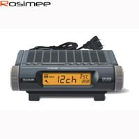 FM battery tuner - Retail Tecsun Radio Tecsun CR Digital Tuner FM MW TV audio radio Digital Clock Display with Thermometer CR200