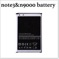 al por mayor billete de polímero-Batería del teléfono móvil para la batería del teléfono del polímero del Li-ion de la nota 3n9000 del samsung Nuevas baterías del reemplazo