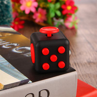 anti pressure - Factory Price Anti irritability Relieves Pressure Dice Fidget Cube For Kid Adult Focus At Home Work Class Newest Vinyl Desk Toy