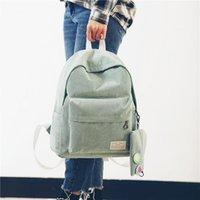 Wholesale Tide Corduroy Shoulder Bag Student Bag Retro Female College Wind Simple Backpack