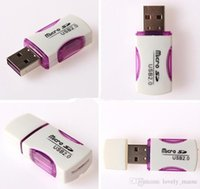 Wholesale High Quality USB Card Reader T flash card reader micro sd card reader adapter