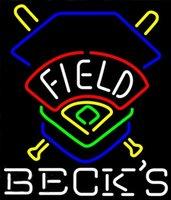 becks beer - Becks Field Colorado Rockies Beer Neon Sign Custom Handmade Real Glass Store Bar KTV Club Motel Advertising Display Art Neon Signs quot X24 quot