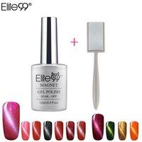 best gel manicure kit - Elite99 Best On Ali UV LED Cat Eye Color Manicure Dark Cat Color Healthy and Eco friendly Gel Varnishes Magnet Comes in The Kit