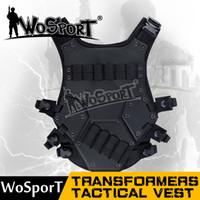 Wholesale TMC Transformers CQB LBV Molle Vest Airsoft Paintball Combat Assault CS field protection vest